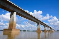 Thailand-Laos-Freundschaftsbrücke Stockfotos
