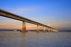 Thailand-Laos-Freundschaftsbrücke Stockbilder
