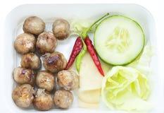 Thailand-Lebensmittel, Isaan-Wurst Stockfotografie