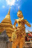 Thailand literature 2. The characters in literature, Thailand Temple of the Emerald Buddha . Or commonly known as the Temple of the Emerald Buddha in Bangkok and royalty free stock photo