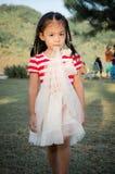 Thailand little girl. Royalty Free Stock Photo