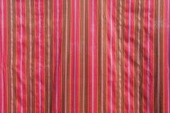 Thailand local cotton stripe textiles Royalty Free Stock Photos