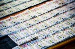 Thailand-Lotterie stockfoto