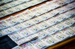 Thailand lottery Stock Photo