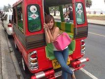 Thailand-Mädchen Lizenzfreies Stockfoto