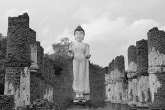 Thailand-Mönch an Samut- Prakanprovinz stockfotografie