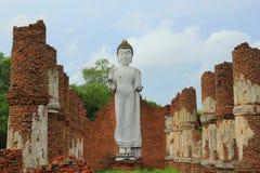 Thailand-Mönch an Samut- Prakanprovinz stockbilder