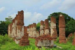 Thailand-Mönch an Samut- Prakanprovinz lizenzfreie stockfotografie