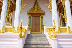 Thailand mönstrade kyrkan. Fotografering för Bildbyråer