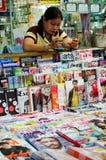 Thailand magazine shop. Stock Photos