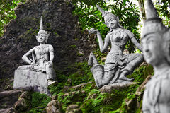 Thailand. Magic Secret Buddha Garden Statues In Samui. Travel, T Stock Photo