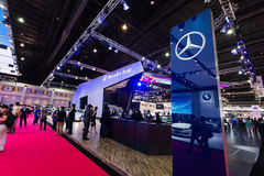 Mercedes Benz on display Stock Photography