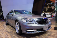 Mercedes Benz S 300 L on display Royalty Free Stock Image