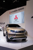 Mitsubishi Concept GR-HEV on display Stock Photos