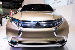 Mitsubishi Concept GR-HEV on display Royalty Free Stock Photos