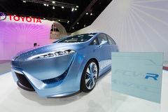 Toyota FCV-R on display Stock Image