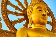 Thailand-Markstein Der große Buddha-Tempel Buddhismusreligion Tou Lizenzfreie Stockfotos