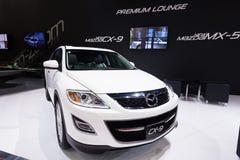 Nya Mazda CX-9 på skärm Fotografering för Bildbyråer