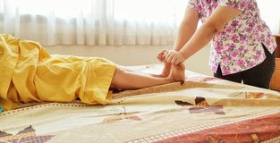 Thailand Massage,welkown in Thailand. Royalty Free Stock Photography