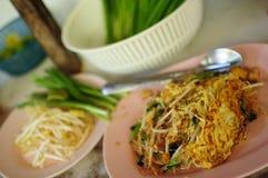 Thailand mat Arkivbilder