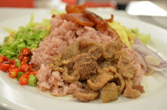 Thailand mat. Arkivbilder