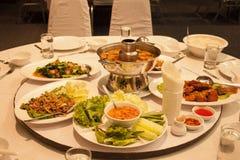 Thailand mat Arkivbild