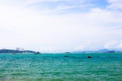 Thailand-Meer Pattaya Lizenzfreie Stockfotografie