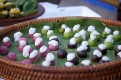 Thailand met een heerlijk dessert Stock Fotografie