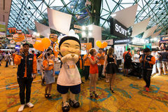 Thailand Mobile Expo 2015 Showcase The largest Event Mobile in the country Stock Photos