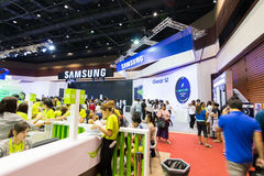 Thailand Mobile Expo 2015 Showcase The largest Event Mobile in the country Royalty Free Stock Photos