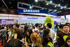 Thailand Mobile Expo 2015 Showcase The largest Event Mobile in the country Royalty Free Stock Photography
