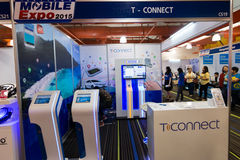 Thailand Mobile Expo 2015 Showcase The largest Event Mobile in the country Stock Images