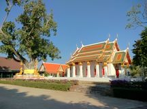 Thailand moderna arkitektur Royaltyfri Foto