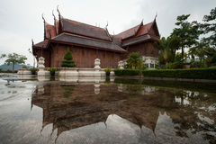 Thailand monastery. Dont like a temple in other countries Stock Photography