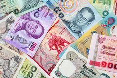 Thailand money banknote for background Stock Images