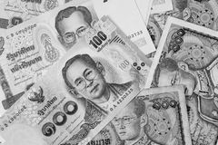 Thailand money banknote for background Stock Photos