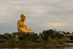 Thailand monk statue Stock Images