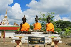 Thailand Monk Surat Royalty Free Stock Photography