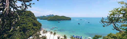 Thailand. Mu Ko Ang Thong National Park. Stock Photography