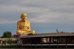Thailand munkstaty Fotografering för Bildbyråer