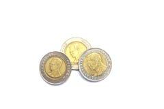 Thailand mynt Arkivfoton