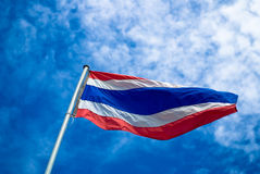 Thailand national flag Stock Photos