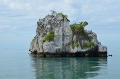 Thailand. Nationalpark Rock Felsen koh samui Nature Royalty Free Stock Images