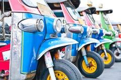 Thailand native taxi call Stock Photography