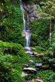 Thailand Natural Waterfall. Monthatarn Waterfall on Doi-Su-Thep at Chiangmai, Thailand Stock Photo