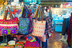 Thailand night market overview Stock Photography