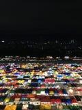 Thailand night market. & x22;Tarad rod fai& x22 Stock Photos