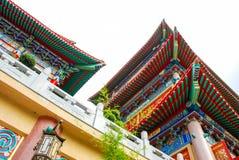 THAILAND - 27. NOVEMBER 2015: Traditioneller und der Architektur der chinesischen Art Tempel, Nonthaburi im September 2012 bei Wa Lizenzfreies Stockbild