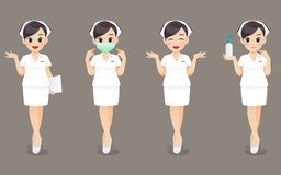 Free Thailand Nurse Collection Stock Photo - 146733980