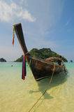 Thailand ocean landscape with boat Stock Photo